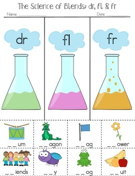 The Science of Blends: Dr, Fl, Fr