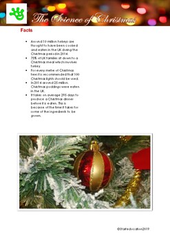 The Science of Christmas Worksheet