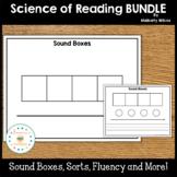 Word Work Science of Reading Activities Growing Bundle