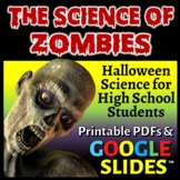Halloween Science - The Science of Zombies - Article, Activity and Sub Plan