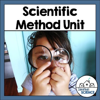Editable Scientific Method Unit- PowerPoint, Notes, Homework, Activities & Test