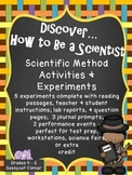 The Scientific Method - Activities and Experiments