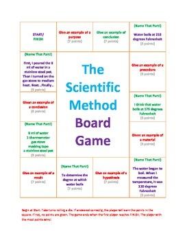 The Scientific Method Board Game