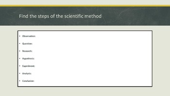 The Scientific Method Bundle