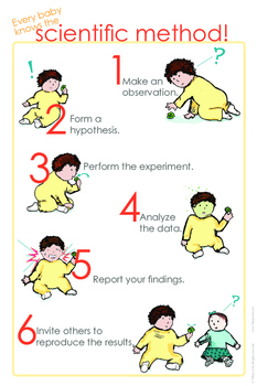 The Scientific Method -- Every Baby Knows It!