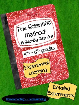 Distance Learning|Home Learning| The Scientific Method: A Step-By-Step Unit