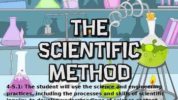 The Scientific Method- First Weeks of School