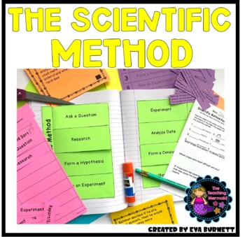 Scientific Method and Interactive Notebook Activities Differentiated Assessments