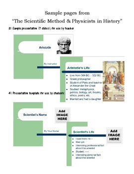 The Scientific Method & history of science (second day of physics)