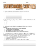 The Scientific Method - Pre/Post Test Assessment