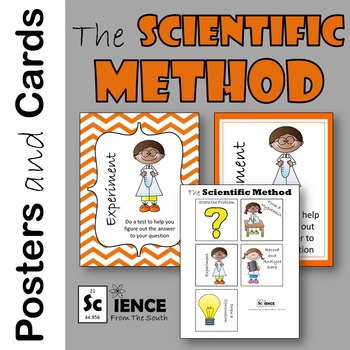 The Scientific Method Printable Posters and Cards to Use in Many Ways