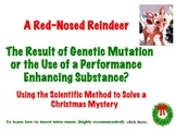 The Scientific Method-Red-Nosed Reindeer Mystery-Christmas