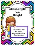The Scientific Method:  Shoe Length vs. Height