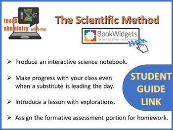 The Scientific Method Student Guide Link