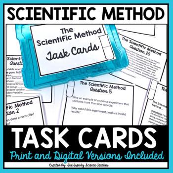 The Scientific Method Task Cards