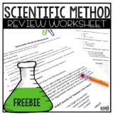 Scientific Method Worksheet (answer key included)