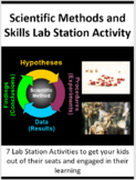 The Scientific Method and Science Skills - 7 Lab Station Activities