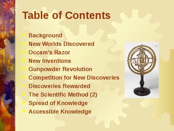 Science & Medicine - The Scientific Revolution