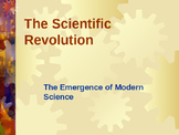 Science & Medicine - The Scientific Revolution