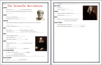 The Scientific Revolution Animated PowerPoint
