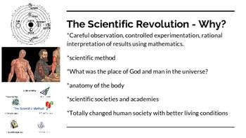 The Scientific Revolution, Enlightenment, Exploration & Nation-States