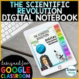 The Scientific Revolution Interactive Notebook | Digital Notebook Google Slides
