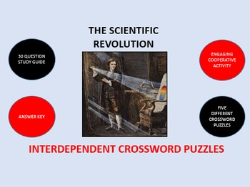 The Scientific Revolution: Interdependent Crossword Puzzles  Activity