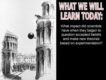 W22.1 - The Scientific Revolution - PowerPoint Notes