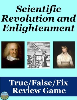 The Scientific Revolution and Enlightenment Review Game
