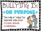 The Scoop on Bullying & Cyber Bullying ~ The Bully, Victim