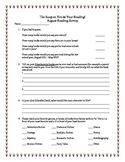 The Scoop on You and Your Reading Survey