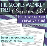 The Scopes Monkey Trial Classroom Skit - Reader's Theater The Roaring Twenties