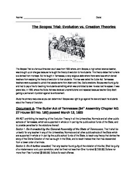 the scopes trial essay The scopes monkey trial the scopes trial was a monumentally important event in american history effect on education effects on society and its effects on religion.