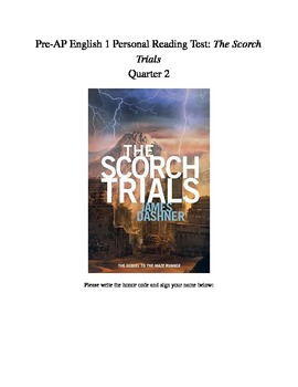 The Scorch Trials Reading Test