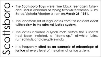 The Scottsboro Trials PowerPoint