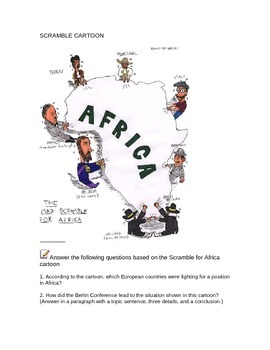 The Scramble for Africa DBQ (differentiated and makes great sub plans)