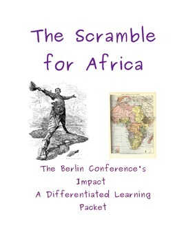 The Scramble for Africa DBQ (differentiated and makes grea