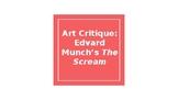 The Scream: An Art Critique Lesson