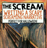 HALLOWEEN WRITING: THE SCREAM BY EDVARD MUNCH