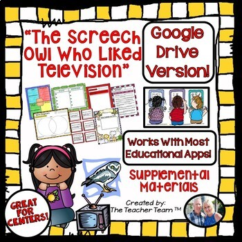 The Screech Owl Who Liked Television Journeys 4th Grade Google Drive Resource