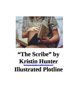 """The Scribe"" by Kristin Hunter Illustrated Plotline"
