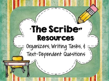 """The Scribe"" by Kristin Hunter: Resources-Gr.Org, Writing, Text-Dependent ?'s"