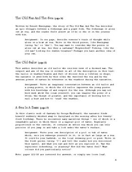 The Sea Literature & Composition
