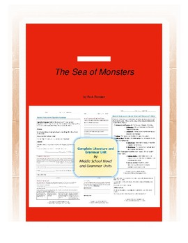 The Sea of Monsters Complete Literature and Grammar Unit