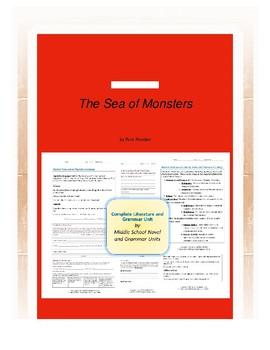 The Sea of Monsters Novel Unit