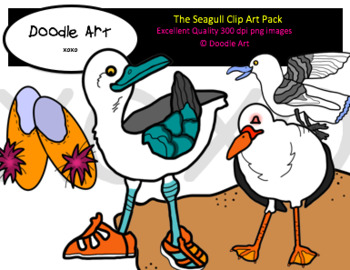 The Seagull Clipart Pack