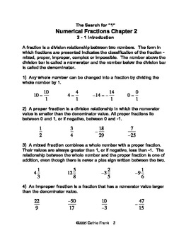 The Search For 1 - Fractions
