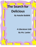 The Search for Delicious by Natalie Babbitt Literature Unit