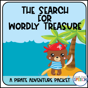 The Search for Wordly Treasure | Pirate | Speech and Language Therapy