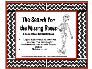 The Search for the Missing Bones - Magic School Bus Chapte